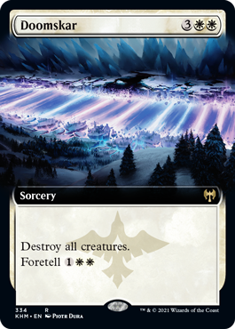 Doomskar - Foil - Extended Art