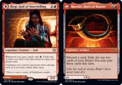 Birgi, God of Storytelling // Harnfel, Horn of Bounty - Foil (KHM)