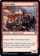 Craven Hulk - Foil