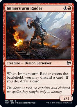 Immersturm Raider - Foil