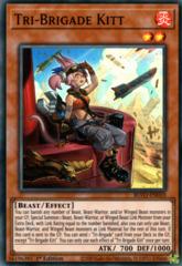 Tri-Brigade Kitt - BLVO-EN010 - Super Rare - 1st Edition
