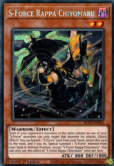 S-Force Rappa Chiyomaru - BLVO-EN011 - Secret Rare - 1st Edition