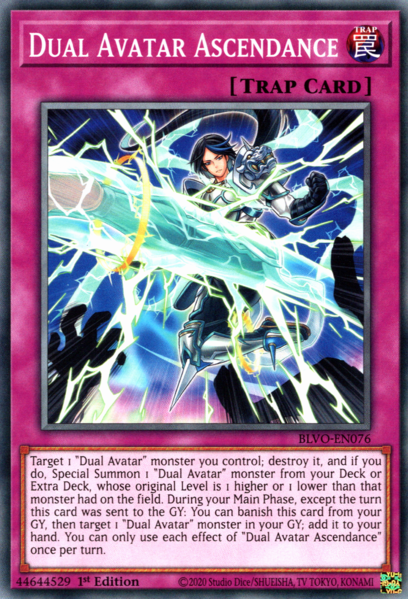 Dual Avatar Ascendance - BLVO-EN076 - Common - 1st Edition