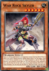 War Rock Skyler - BLVO-EN096 - Common - 1st Edition