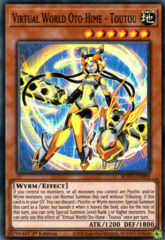 Virtual World Oto-Hime - Toutou - BLVO-EN099 - Super Rare - 1st Edition