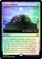 Pyre of Heroes - Foil - Prerelease Promo