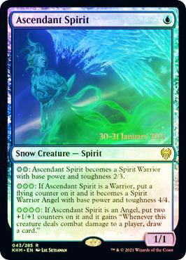 Ascendant Spirit - Foil - Prerelease Promo