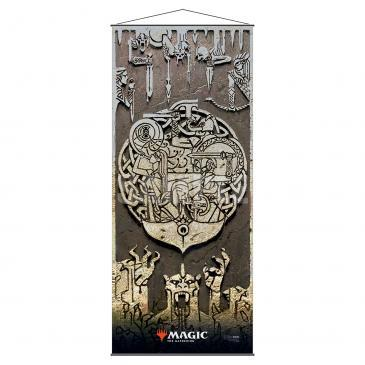 Ultra Pro: Kaldheim Wall Scroll featuring Battle for Bretagard