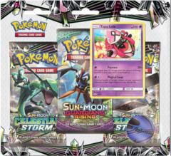 Sun & Moon - Celestial Storm 3 Pack Blister - Tapu Lele