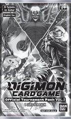 Digimon Card Game: Official Tournament Pack Volume 1