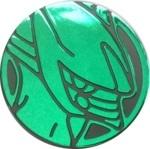 Arceus Collectible Coin - Green Mirror Holofoil (Generation 4)