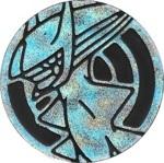 Arceus Collectible Coin - Silver Glitter Holofoil (Generation 4)