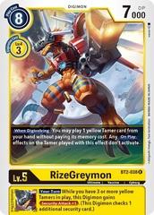 RizeGreymon - BT2-038 - R