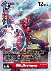 BlitzGreymon - BT3-018 - SR