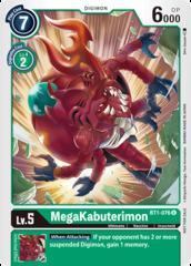 MegaKabuterimon - BT1-076 - U - Alternative Art
