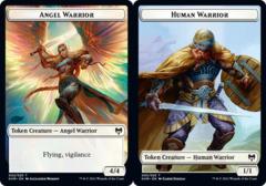 Angel Warrior Token // Human Warrior Token - Foil (KHM)