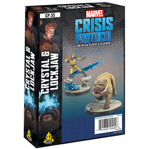 Marvel: Crisis Protocol - Crystal & Lockjaw Character Pack