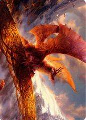 Goldspan Dragon Art Card