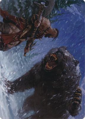 Blizzard Brawl Art Card