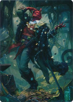 Tibalt, Cosmic Impostor Art Card