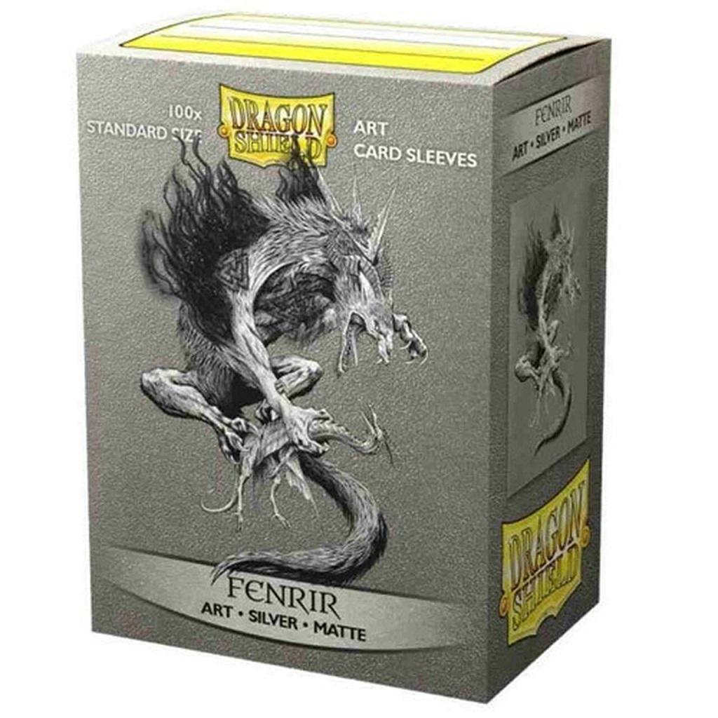 Dragon Shield Sleeves: Matte - Fenrir (100)