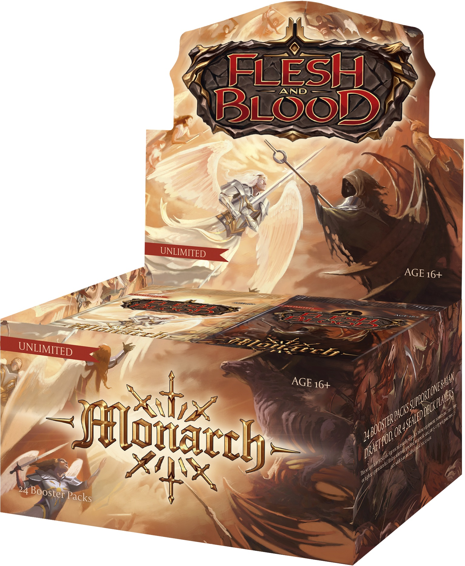 Monarch Booster box - Unlimited Edition