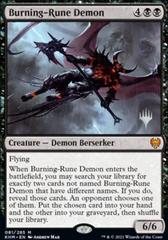 Burning-Rune Demon - Promo Pack