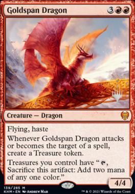 Goldspan Dragon - Promo Pack