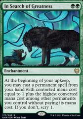 In Search of Greatness - Foil - Promo Pack