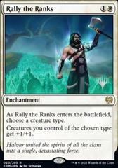 Rally the Ranks - Foil - Promo Pack