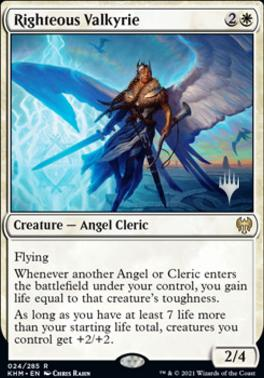 Righteous Valkyrie - Foil - Promo Pack