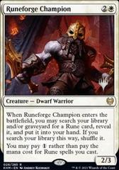 Runeforge Champion - Foil - Promo Pack