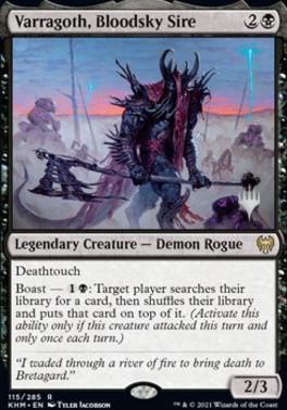 Varragoth, Bloodsky Sire - Promo Pack