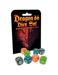 Steve Jackson Games: Dragon D6 Dice Set