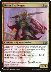 Boros Challenger - The List