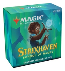 Strixhaven: School of Mages - Prerelease Pack +2 Booster Packs - Quandrix LIMIT 2 PER CUSTOMER EARLY RELEASE 4-16-21