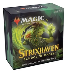 Strixhaven - Prerelease Pack Witherbloom + 2 Boosters