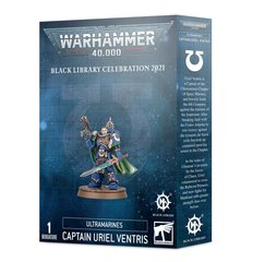 Warhammer 40k Black Library Celebration 2021 Ultramarines Captain Uriel Ventris