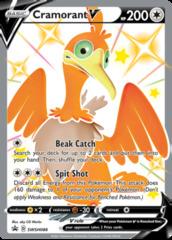 Cramorant V - SWSH086 - SWSH Black Star Promo