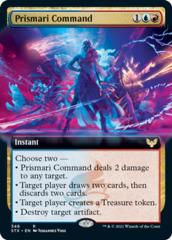 Prismari Command - Foil - Extended Art