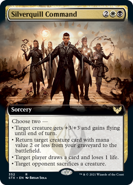 Silverquill Command - Extended Art