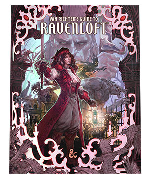 D&D: Van Richten's Guide to Ravenloft (Alternate Cover)