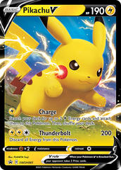 Oversized - Pikachu V - SWSH061 - SWSH Black Star Promos