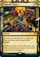 Demonic Tutor - Foil Etched