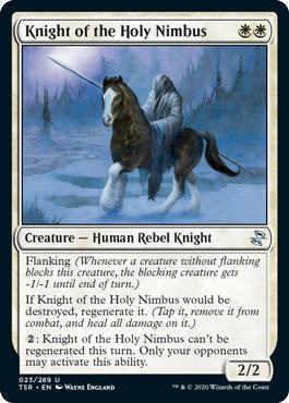 Knight of the Holy Nimbus - Foil