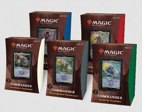 Strixhaven Commander Deck: Set of 5