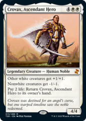 Crovax, Ascendant Hero - Foil