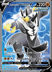 Rapid Strike Urshifu V - 152/163 - Full Art Ultra Rare