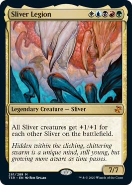 Sliver Legion - Foil