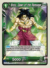 Broly, Dawn of the Rampage (Reprint) - BT1-076 - C